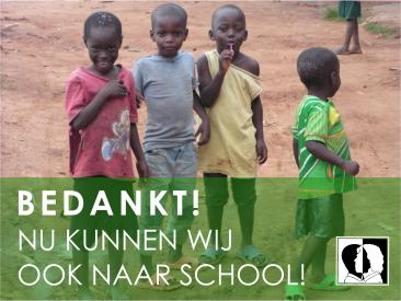 Nu kunnen wij ook naar school!